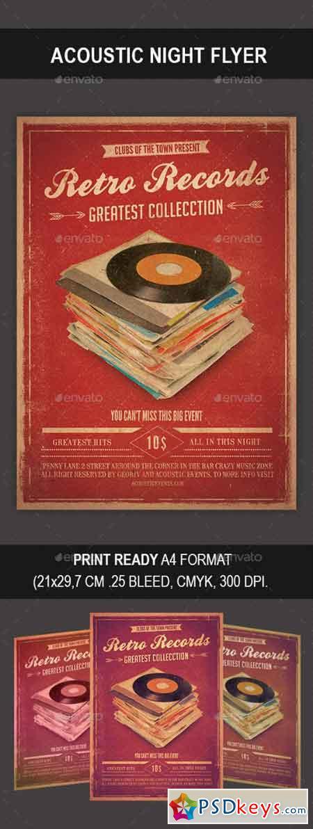 Retro Records Flyer 9031476