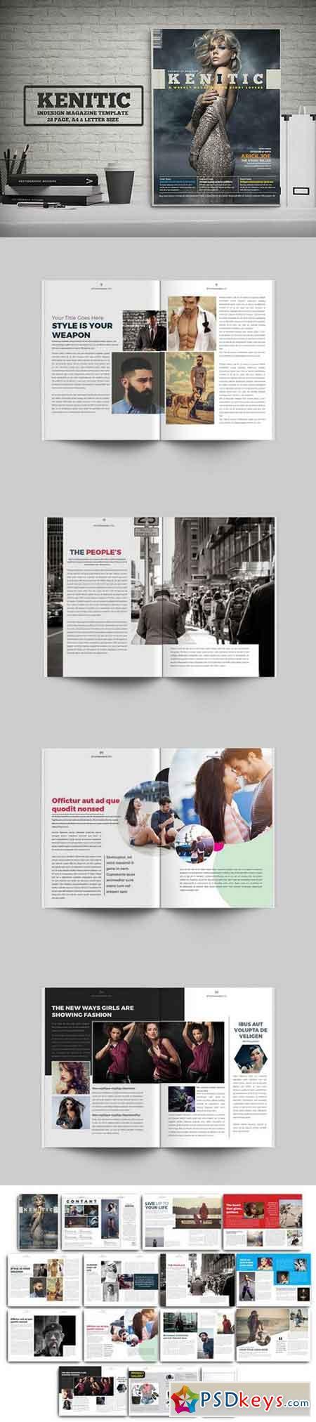 Magazine Template 1024817