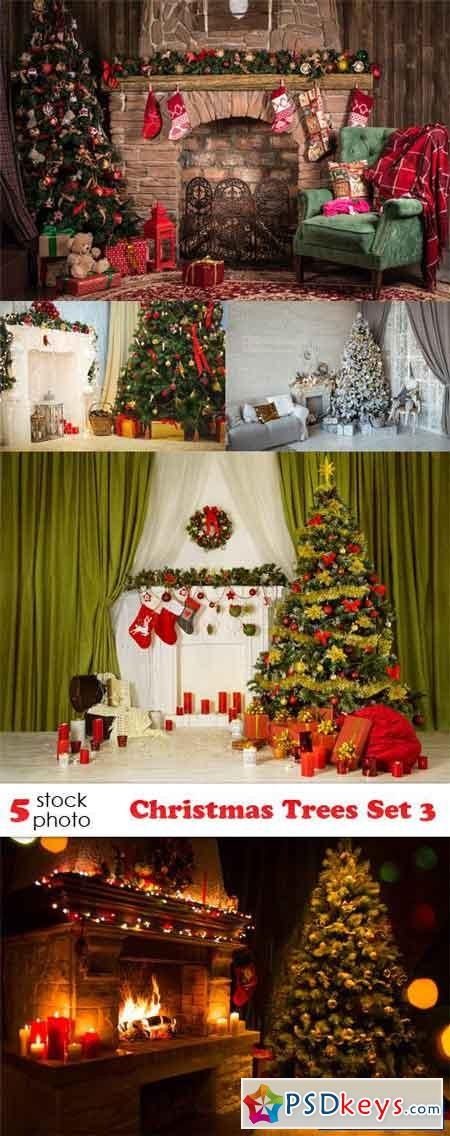 Christmas Trees Set 3