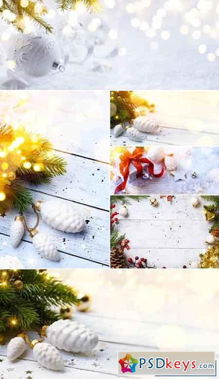 White Christmas Backgrounds 3
