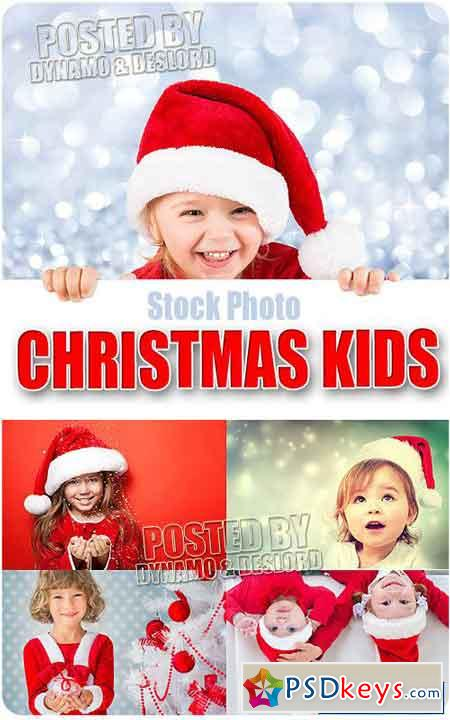 Xmas happy kids - UHQ Stock Photo