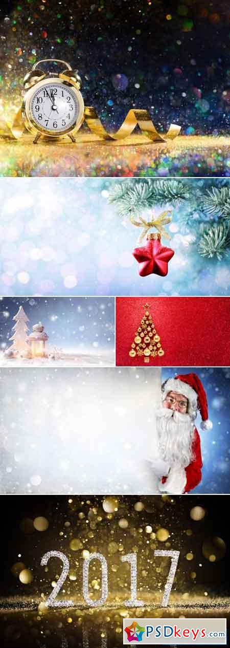 Christmas & New Year 2017 Backgrounds 3