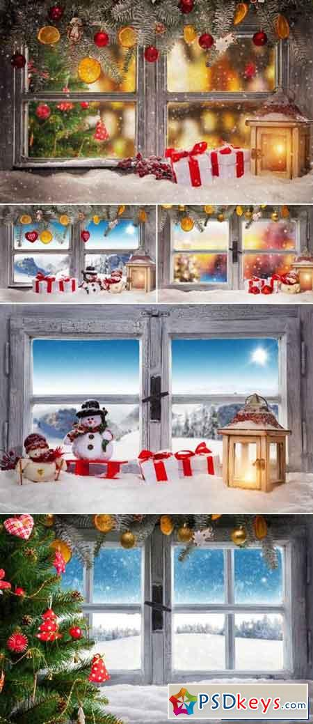 Christmas Window 2