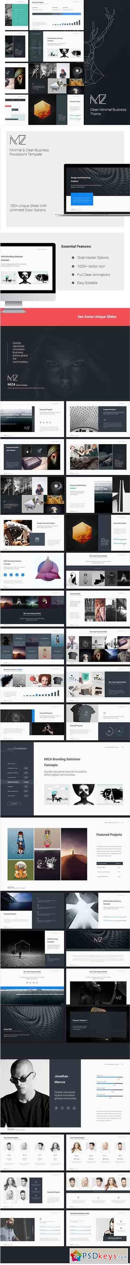 Miza - Business Clean Theme 14813182