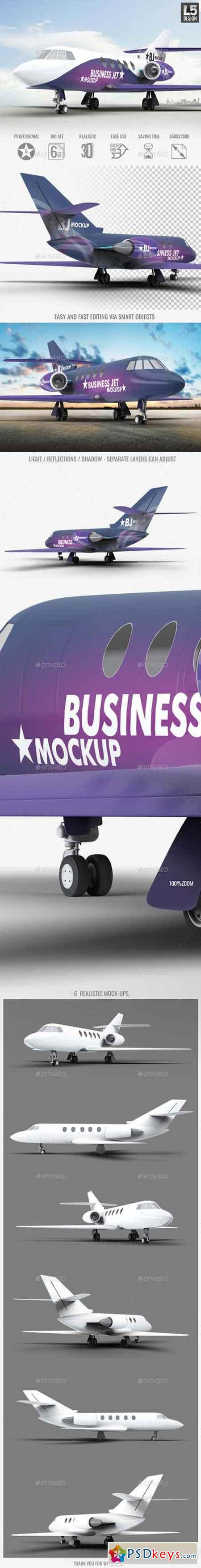 Business Jet Mock-Up 17108103
