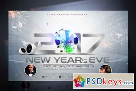New Years Eve Flyer Template 959956