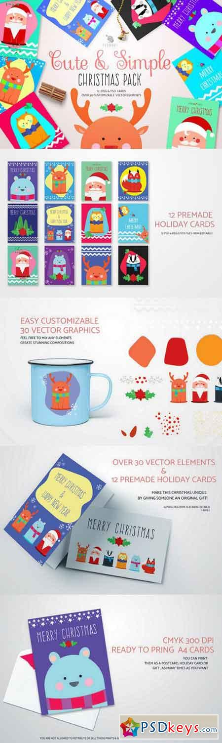 Cute&Simple Christmas Pack 1043518
