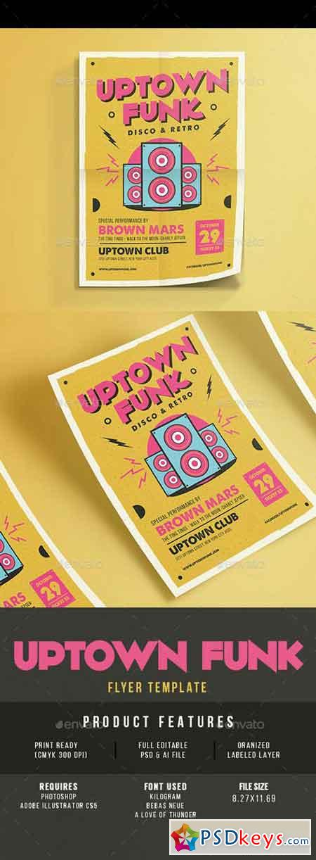 Uptown Funk Music Party 14816447