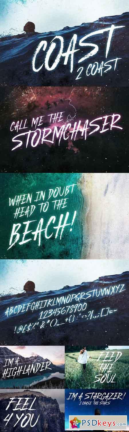 Coast 2 Coast - Typeface 1039300
