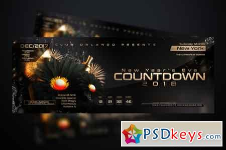 NYE Countdown Flyer Template 961770