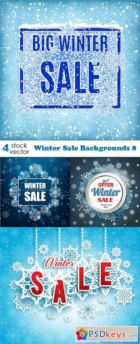 Winter Sale Backgrounds 8