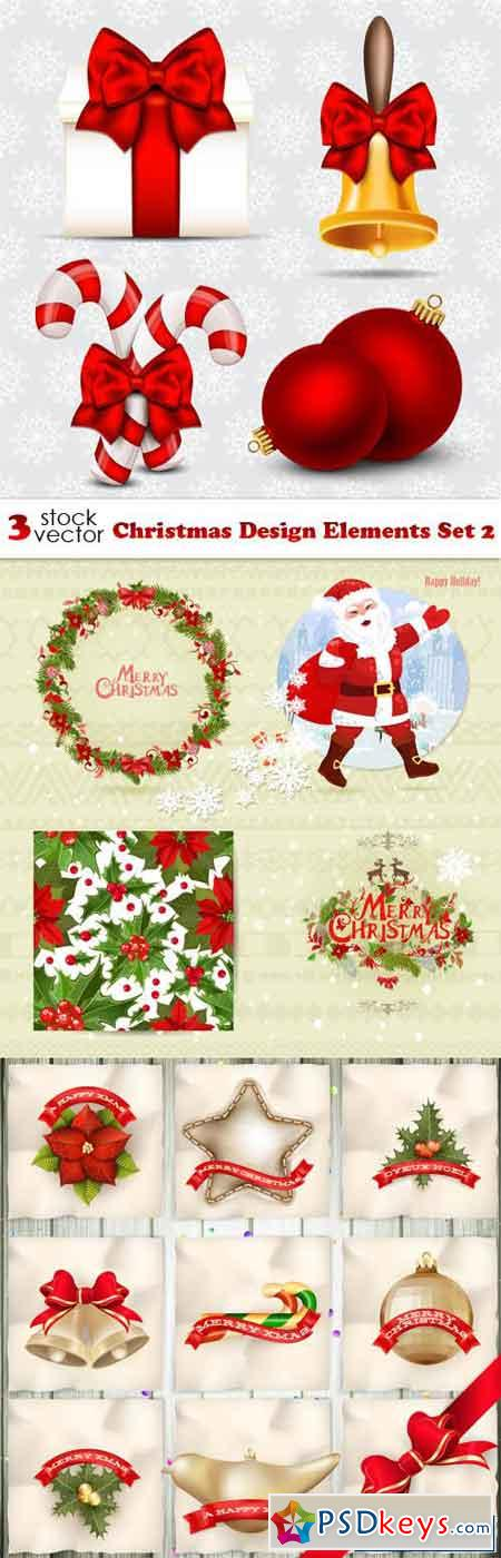 Christmas Design Elements Set 2