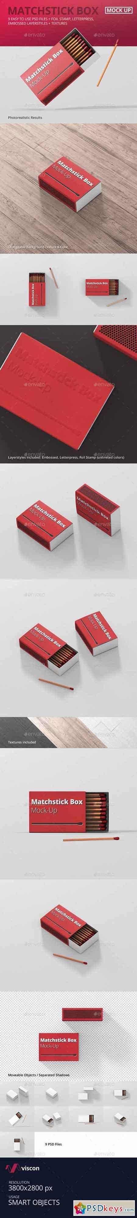 Match Box Mock-Up 15946285