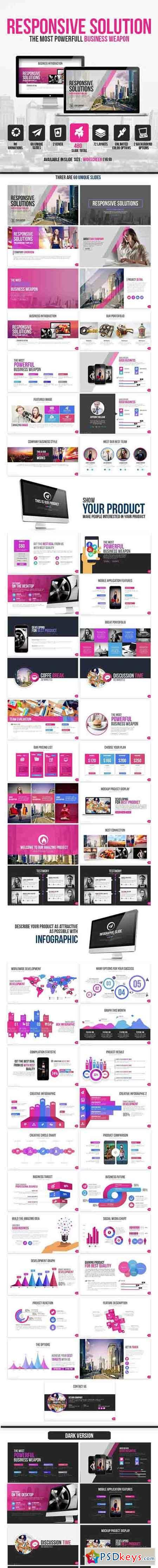Responsive Solutions Presentation Template 11456537