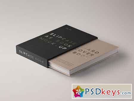 PSD Slipcase Book Mockup Vol 3