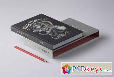PSD Slipcase Book Mockup Vol 4