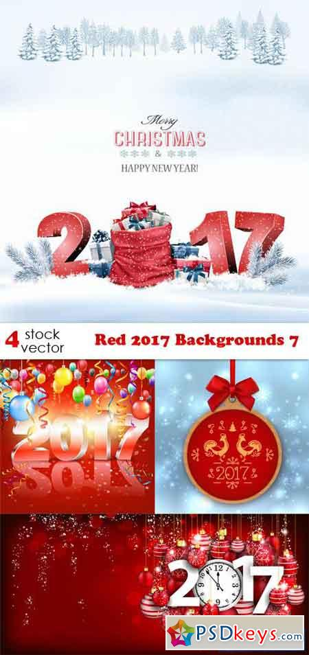 Red 2017 Backgrounds 7