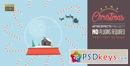 Flat Christmas 18829330 - After Effects Projects