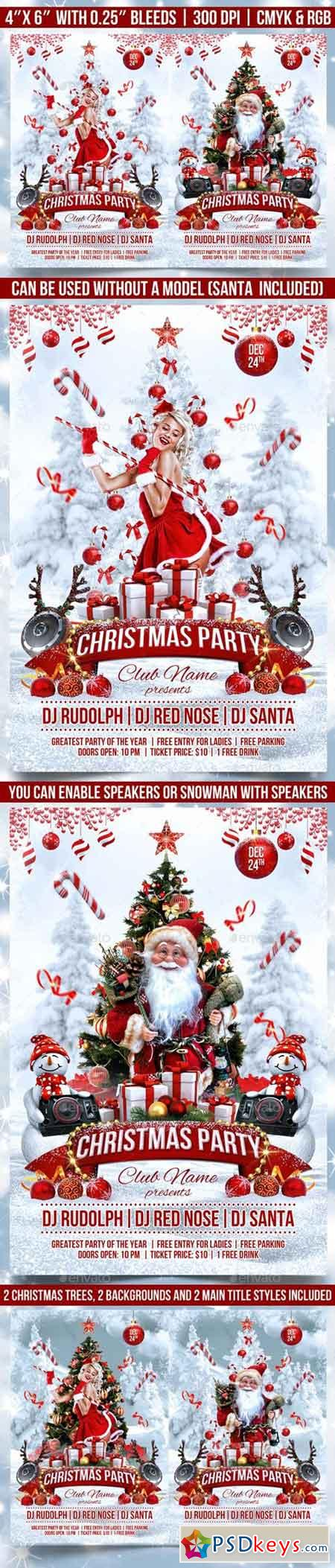 Christmas Party Flyer 18616879