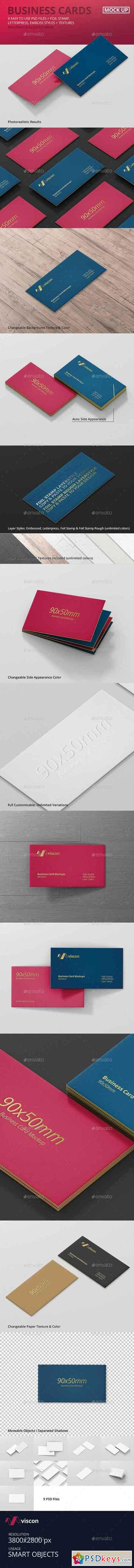 Business Card Mock Ups Free Download shop