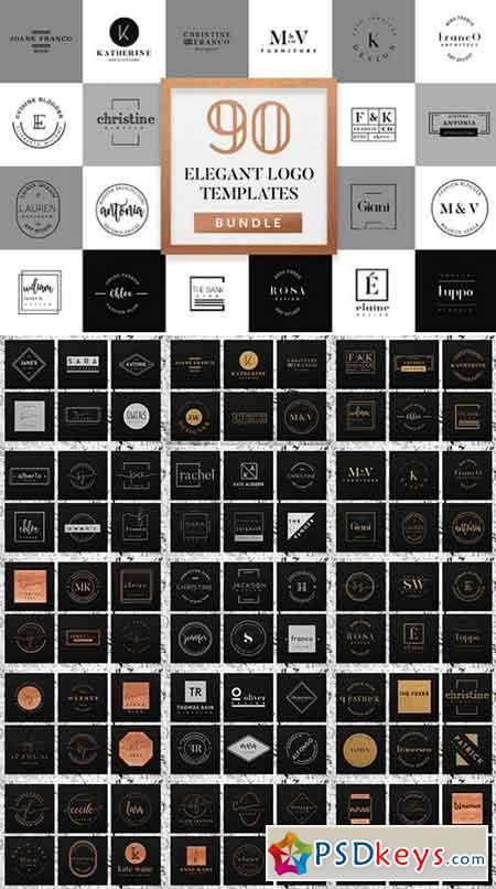 Elegant Logo Pack BUNDLE 1075798