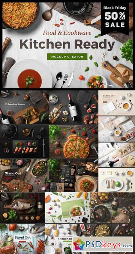 Kitchen Ready Mockup Creator 1017206