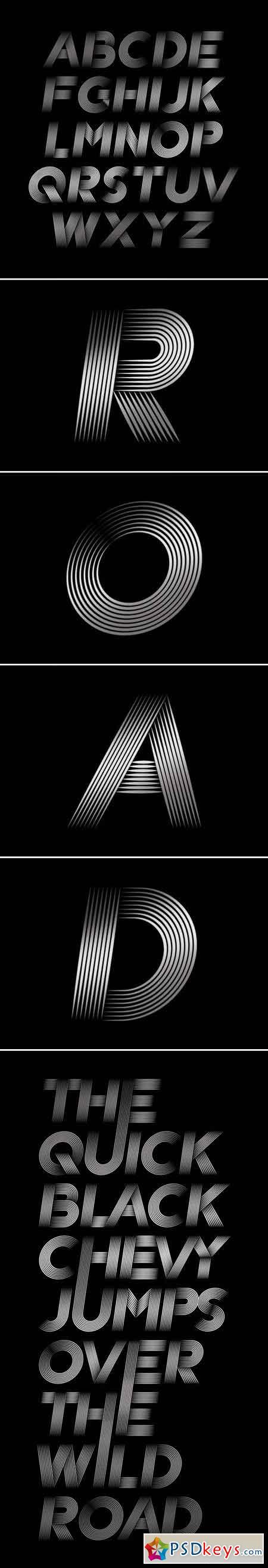 Road Font