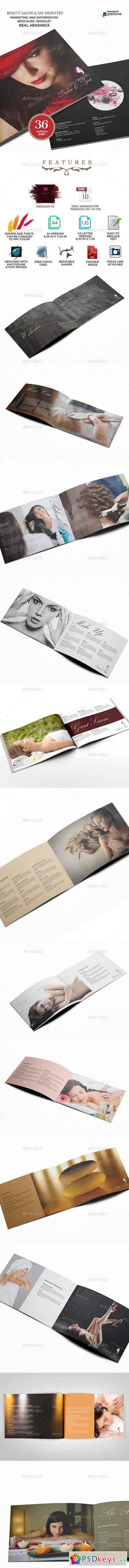 Salon and Spa Service Information Brochure 9641249
