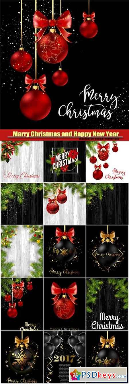 Marry Christmas and HPNY, Christmas decoration ball with golden ribbon bow