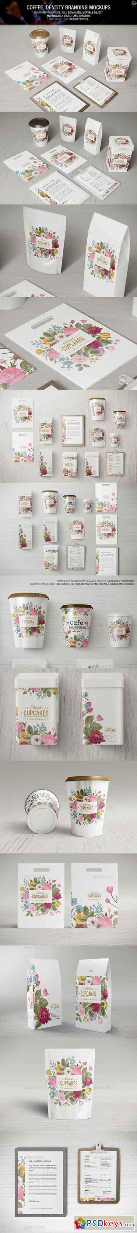 Coffee Identity Branding Mockups 11096078