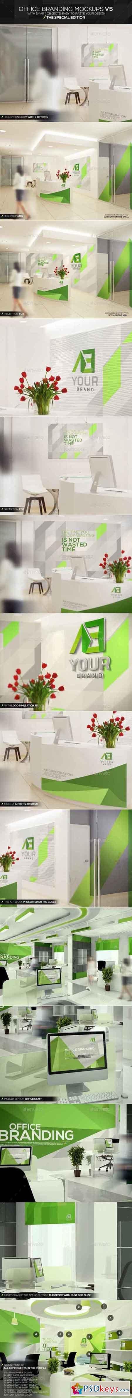 Office Branding Mockups V5 11515811