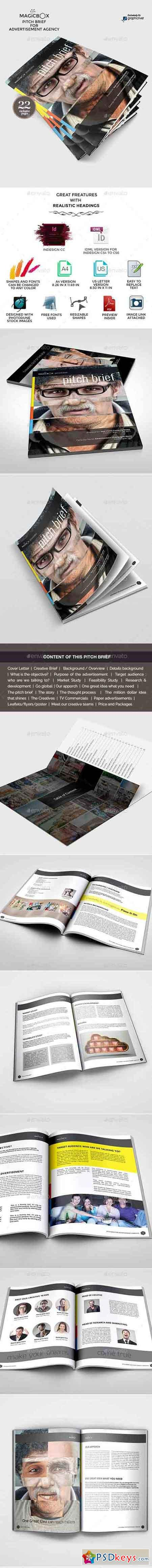 Pitch Brief Template for Advertisement Campaign 9807527