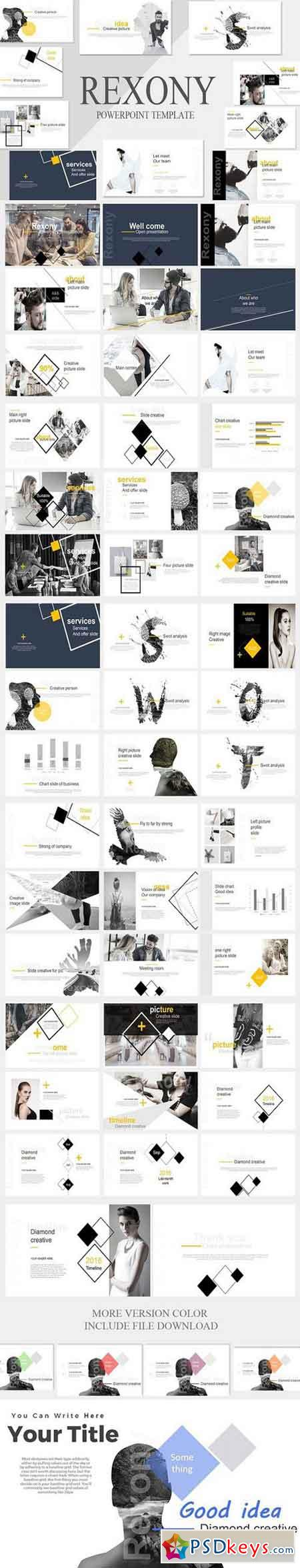 Rexony Creative Powerpoint Template 920004