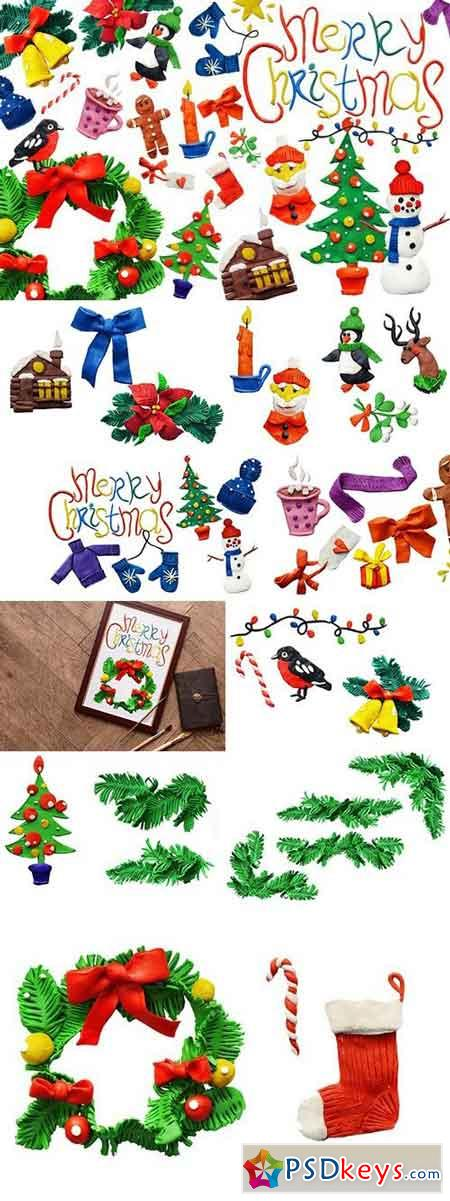 Plasticine Christmas set 1062887