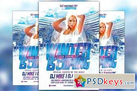 Winter is Coming Party Flyer 1065603