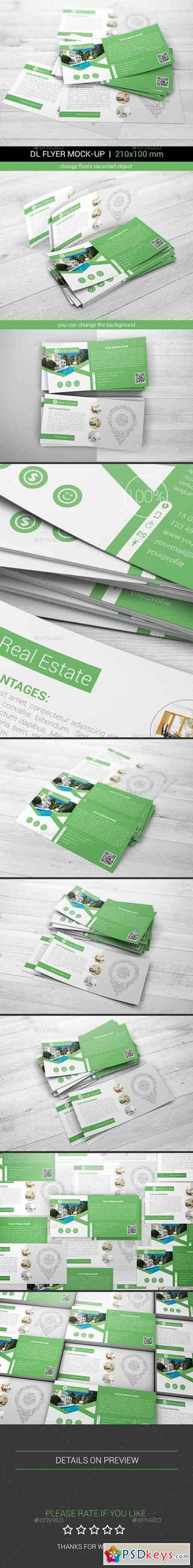 DL Flyer Mock-Ups 17867250