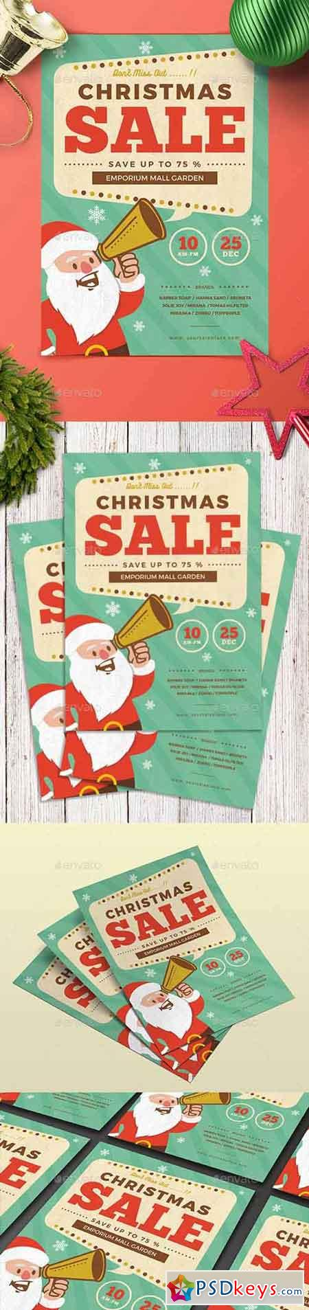 Retro Christmas Sale 19078167