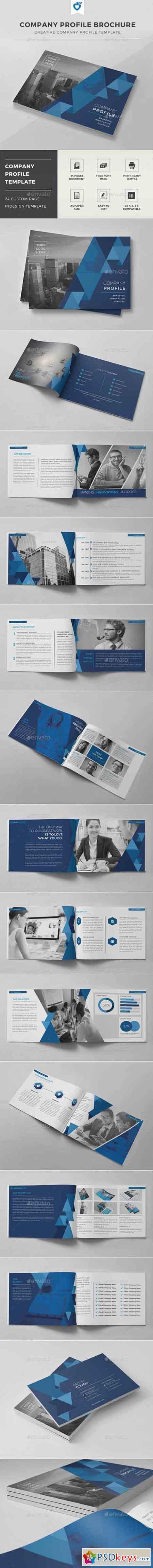 Company Profile Brochure 11808076 » Free Download Photoshop Vector ...