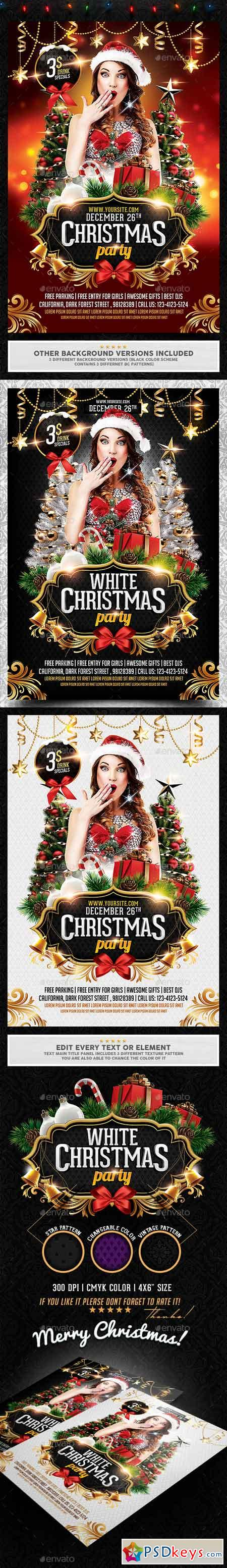 christmas party flyer 18519336 photoshop vector christmas party flyer 18519336