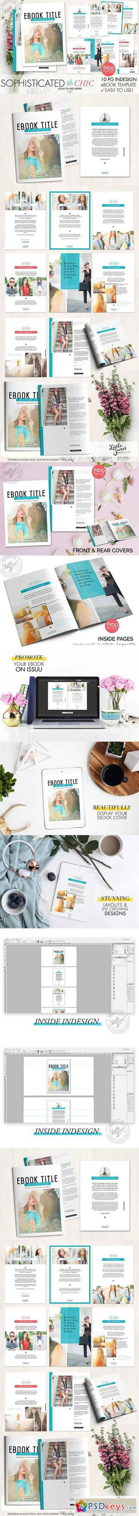 10 page indesign indd ebook template 999955 free download