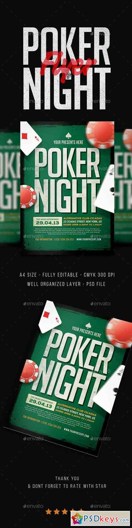 Poker Night Flyer 18610131