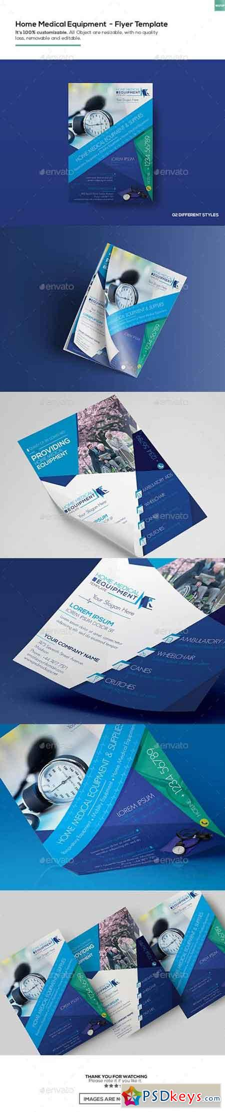 Home Medical Equipment Flyer Template 16895879