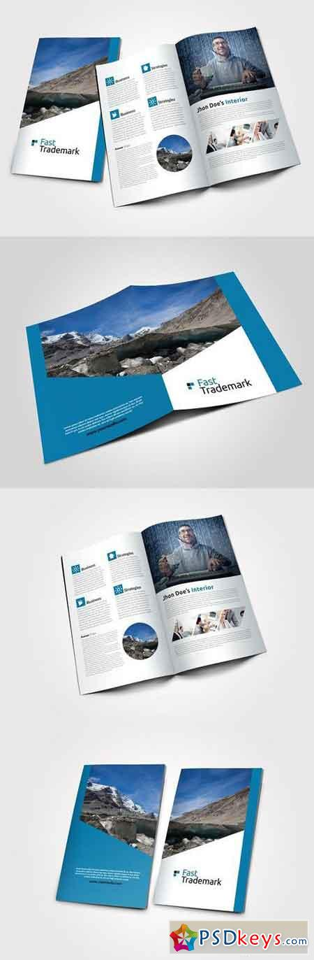 corporate bi fold brochure template - business bi fold brochure template 767821 free download