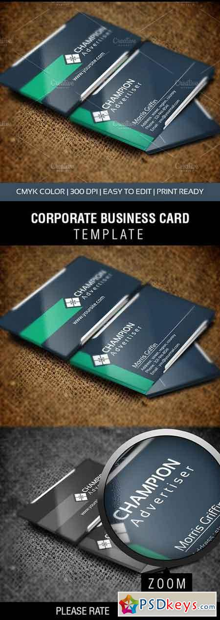 Champion Business Card 1113457