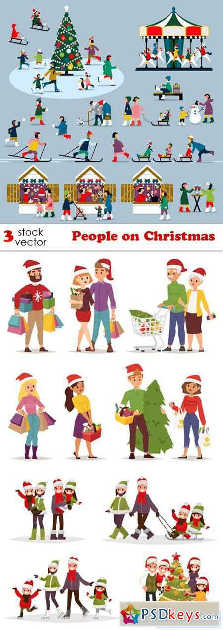 People on Christmas