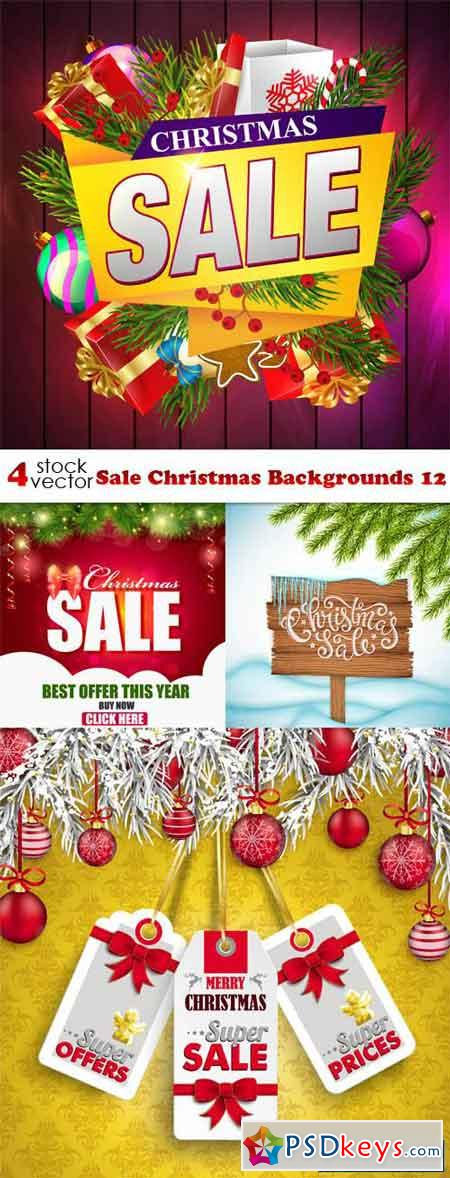 Sale Christmas Backgrounds 12