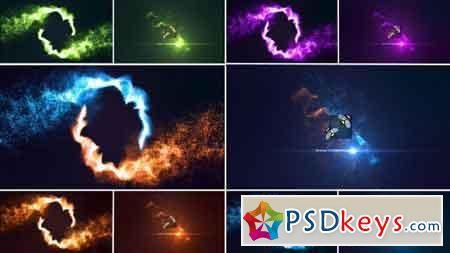 Magic Particles Logo Reveal 17130921 - After Effects Projects