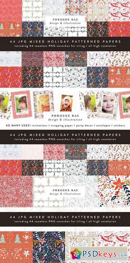 Holiday Christmas Patterns 1105166