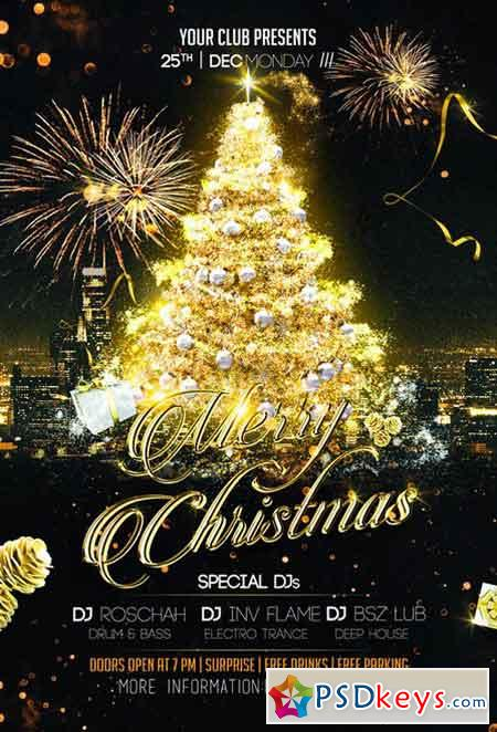 Magic Christmas Flyer 1087129