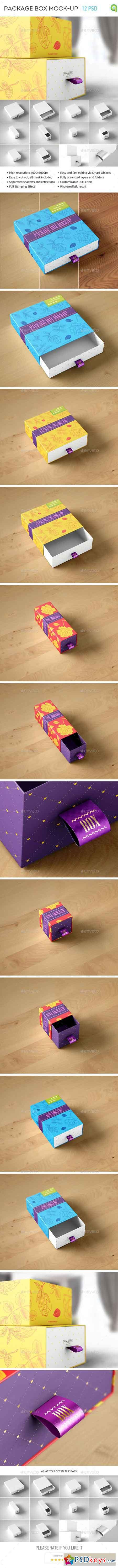 Package Box Mock-Up 14864357